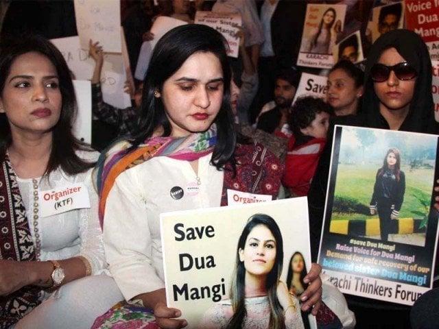 Dua Mangi, Bisma Saleem kidnapping gang busted in Karachi