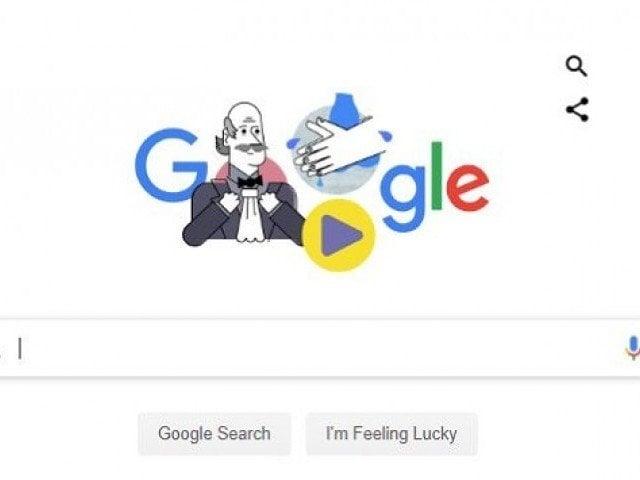 New Google Doodle honours handwashing pioneer