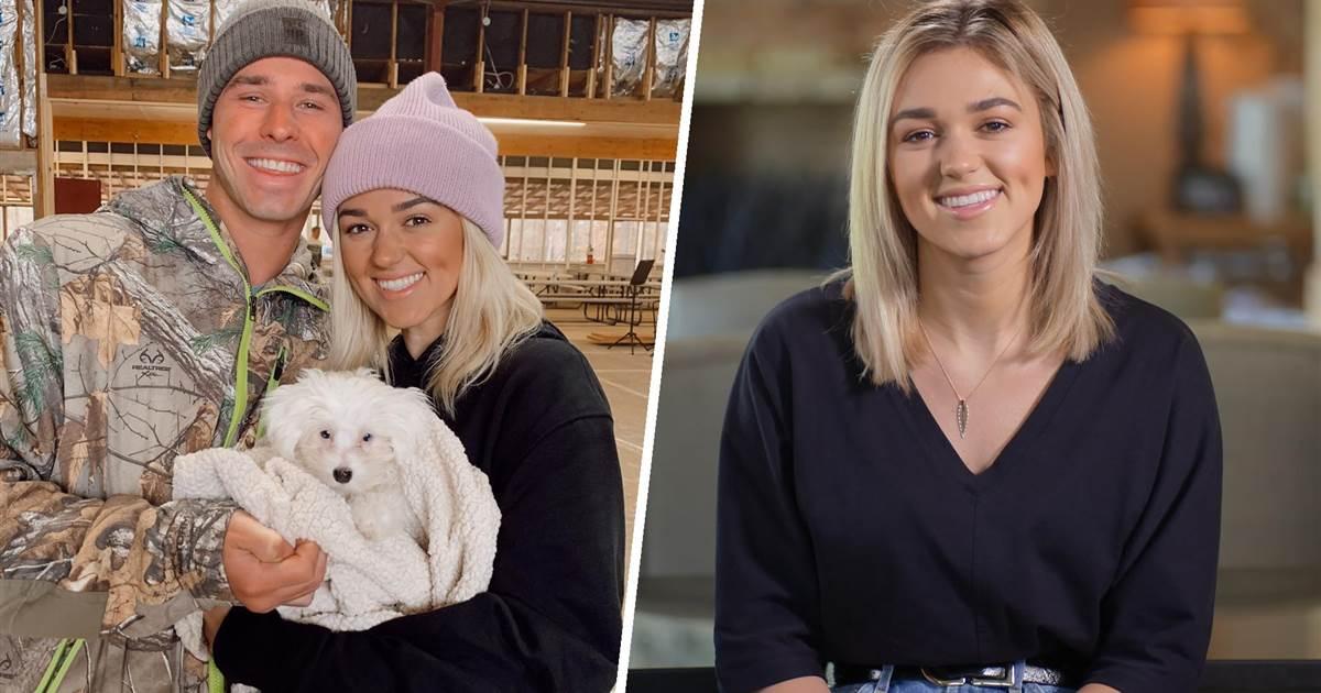 Duck Dynasty' star Sadie Robertson on life with husband and 'honeymoon baby' dog