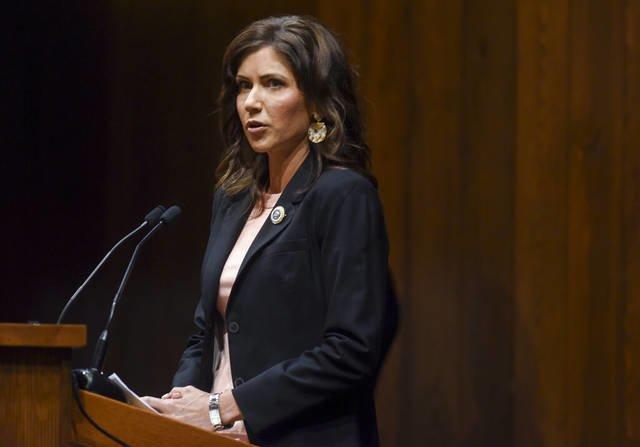 South Dakota Gov. Kristi Noem tells tribes to open roads, calls Smithfield workers