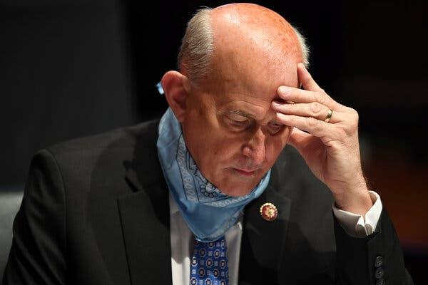 U.S. Rep. Louie Gohmert, a mask skeptic, tests positive for coronavirus